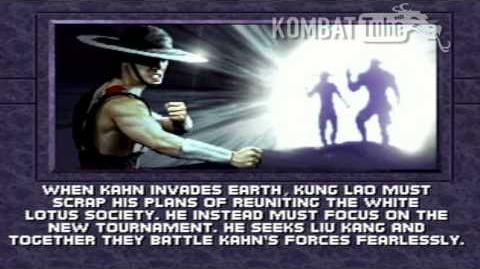 MK III Ending- KUNG LAO