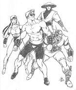 Mortal-kombat-1-sonya-johnny-cage-kano-raiden-artwork