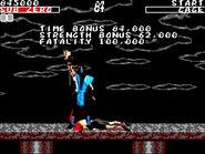 Mortal Kombat 1 Master System - Sub-Zero Playthrough