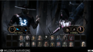 Character Selection - Mileena vs Kung Lao