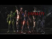 Mortal Kombat XL - Triborg- Team Work Fatality