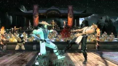 Raiden HD Gameplay Trailer - Mortal Kombat