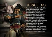 Kung Lao. MKDA bio 1