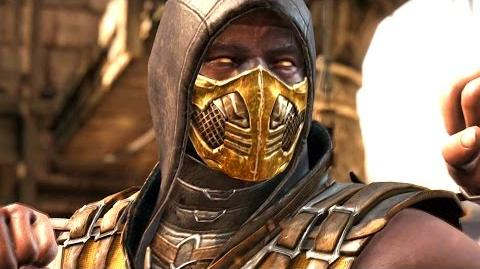 Mortal Kombat X - Scorpion All Interaction Dialogues