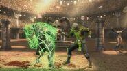 Cyrax DLC Costume Battle