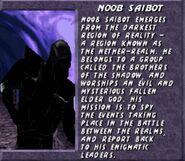 Noob saibot UMK3 bio