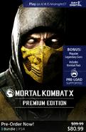 MKX premium Edition on PSN