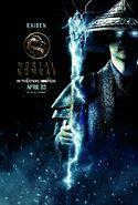 Mortal Kombat 2021 Raiden character poster