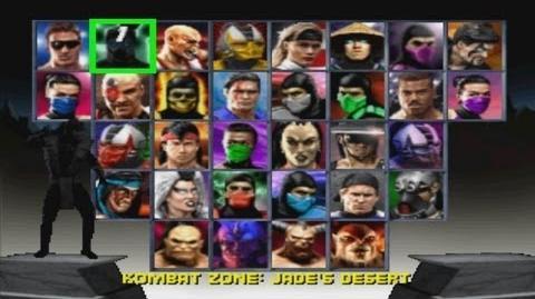 Mortal Kombat Trilogy/Walkthrough