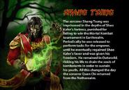 Shang Tsung. MKDA bio 1