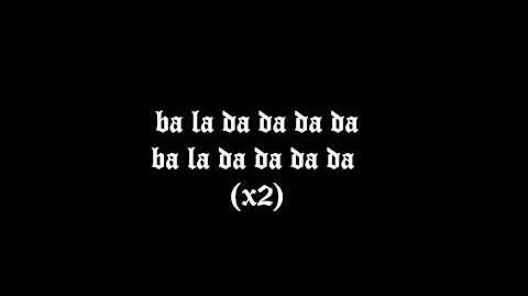 Bad Karma by Ida Maria with lyrics on screen