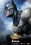 Mortal Kombat vs. DC Universe Batman poster