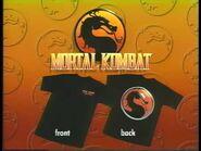 Mortal Kombat- The Movie - T-Shirt Promo