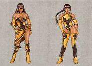 Mortal Kombat Deception Tanya Concepts