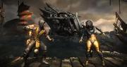Scorpion vs D'Vorrah
