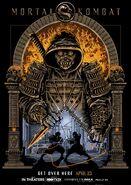 Agart Studio Mortal Kombat Poster
