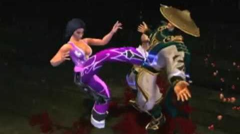 Mortal Kombat Armageddon Li Mei's Kombat Card