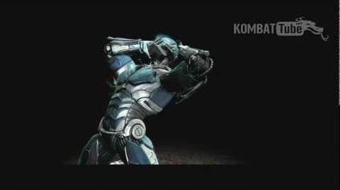 MK9 Ending- CYBER SUB-ZERO