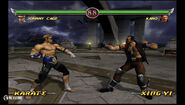 Deadly Alliance - Johnny Cage vs Kano in Portal