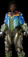 Jacqui Briggs Skin - Rainbow Warrior