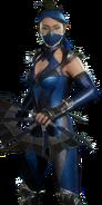 Kitana Skin - Edenian Blue