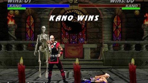 Mortal Kombat 3 - Fatality 1 - Kano