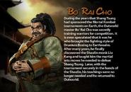 Bo' Rai Cho. MKDA bio 1