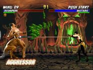 Mortal Kombat Trilogy PC DOS - Scorpion Playthrough