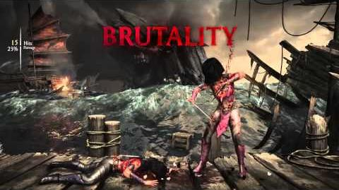 Mileena Brutality 3 - Impaler