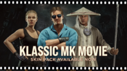 Mortal Kombat 11 Klassic Movie Skin