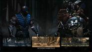 MK X Sub-Zero Select Screen