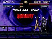 Ultimate Mortal Kombat 3 SNES - Kung Lao Playthrough