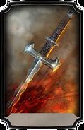 Wavy sword pre