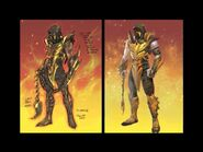 Scorpion Injustice concept art
