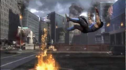 """Fire vs ICE"" Sub Zero vs Scorpion Kombat Exhibition - Mortal Kombat 9"