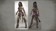 MK Mileena Concept Art 7