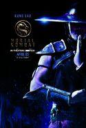 Mortal Kombat 2021 Kung Lao character poster