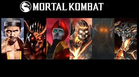 Bosses Defeated Mortal Kombat 1 to Mortal Kombat X (Update)