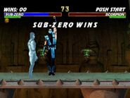 Mortal Kombat Trilogy PS1 - Classic Sub-Zero Playthrough