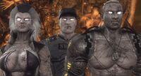 MK9 Zombies Sindel Stryker Jax