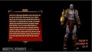 MK 2011 Kratos Character Bio