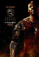 Mortal Kombat 2021 Jax Briggs character poster