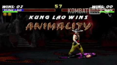 MK III Kung Lao Animality