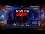 Ultimate Mortal Kombat 3 XBOX 360 (XBLA) - Ermac Playthrough
