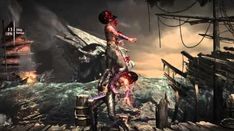 Mileena Brutality 5 - Early Lunch