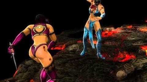 Mortal Kombat 9 Komplete Edition - MILEENA ( Fatality 2 - Rip Off )