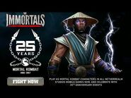WWE Immortals -2015- Raiden -Mortal Kombat- Trailer