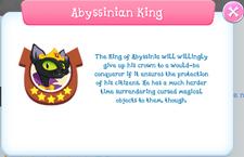 Abyssinian King Album Description.png