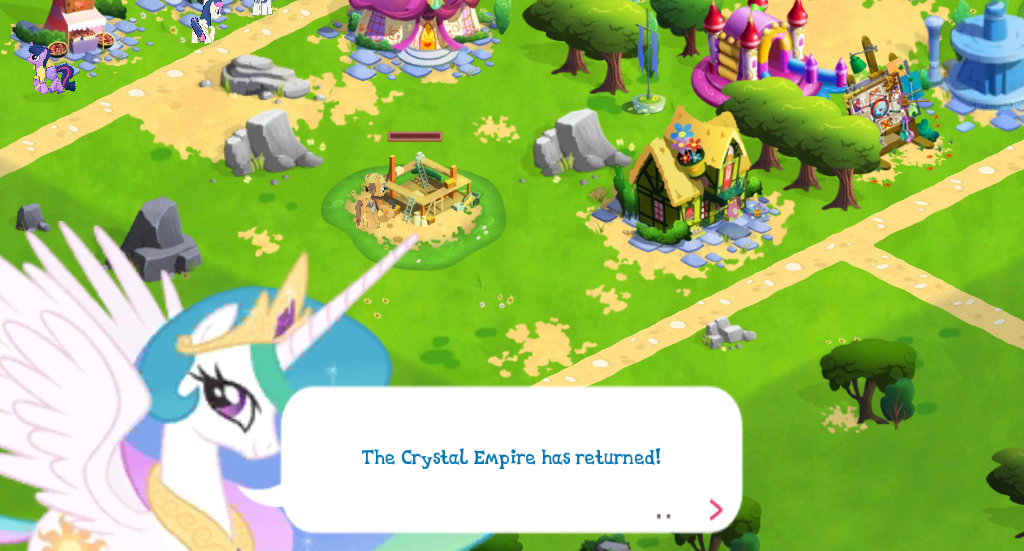 Crystal Empire quests