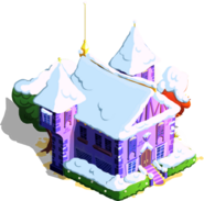 Shining Armor's House Winter